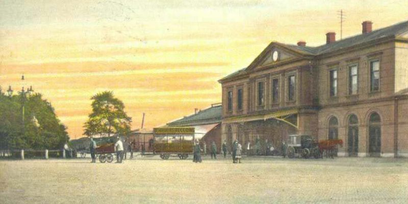 2. Station Zwolle 1915