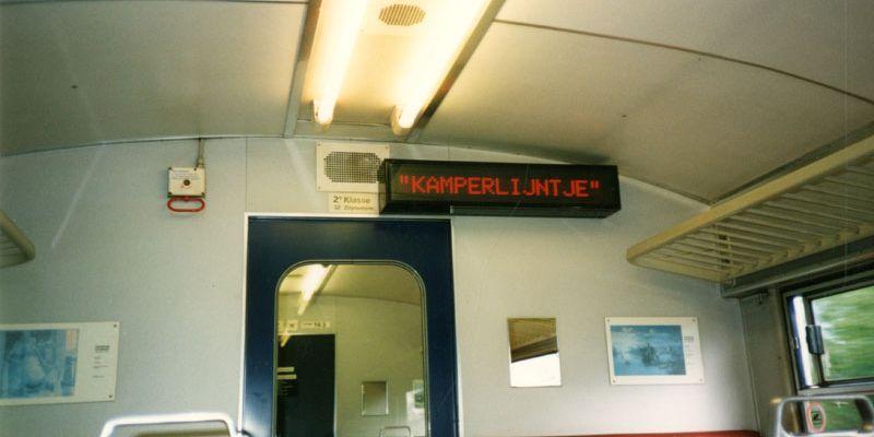 Hetkamperlijntje het kortste spoorlijntje van nederland for Beumers interieur
