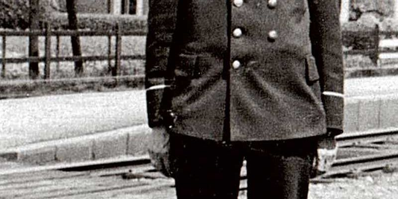 Gerrit Soetendal in uniform